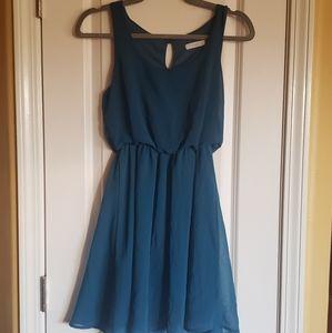 24 HOUR SALE TURQUOISE LUSH DRESS